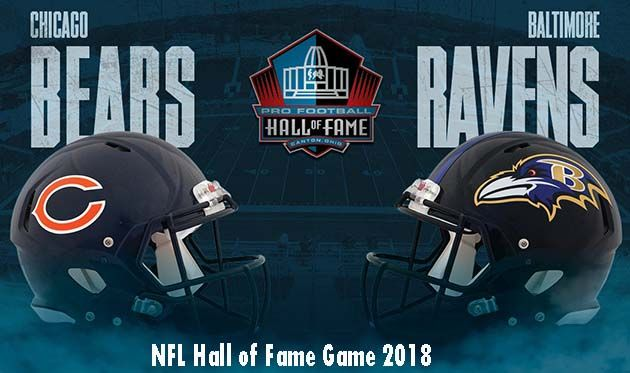 NFL Hall of Fame Game 2018