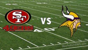 49ers vs Vikings Live Stream