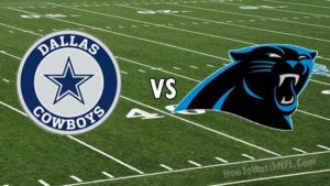 cowboys vs panthers live stream