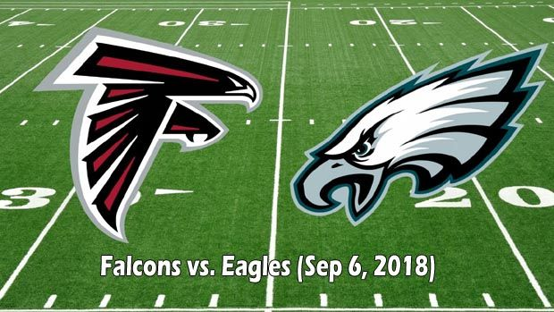 Falcons vs Eagles live stream