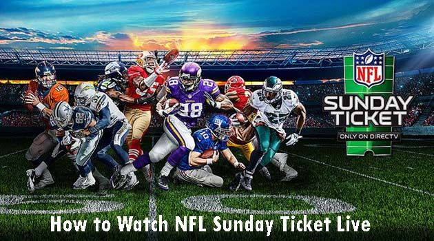 nfl sunday ticket live